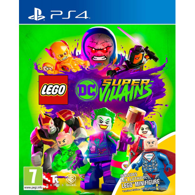Игра Lego DC Super-Villains (русская версия)