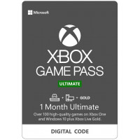Ваучер для Xbox One 1Месяц Game Pass + 14Дней LIVE GOLD