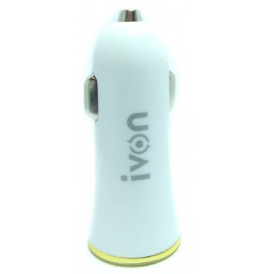 АЗУ iVon CC-25 4.2A 2USB White