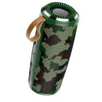 Акустика HOCO Cool freedom sports BS38 |IPX5, TWS, TF/USB/FM, BT5.0| Camouflage-Green