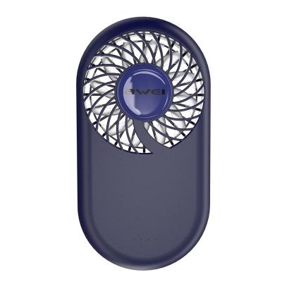 Вентилятор Awei портативный mini slim F3 Blue