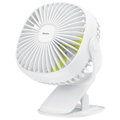 Вентилятор портативный BASEUS Box Clamping Fan 360 White