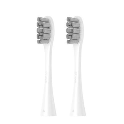 Насадки сменные 2шт Oclean Whitening Brush Head (PW01) для зубной щетки Oclean X (White)