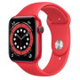 Apple Watch Series 6 (GPS) 40mm (PRODUCT)RED Aluminum Case with Red Sport Band (M00A3)