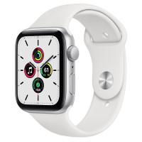 Apple Watch Series SE (GPS) 40mm Silver Aluminium Case with White Sport Band (MYDM2)