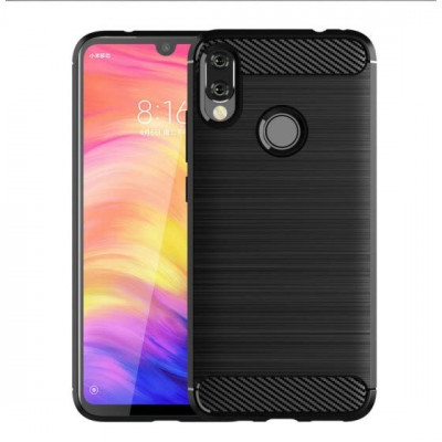 Силикон Xiaomi Redmi Note 7 Carbon