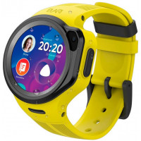 Детские смарт-часы Elari KidPhone 4G Round Yellow (KP-4GRD-Y)