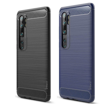 Силиконовый чехол Xiaomi Mi Note 10   Note 10 Pro   Note 10 Lite Carbon