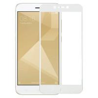Защитное стекло Xiaomi Redmi Note 4x 5D White (полный клей)
