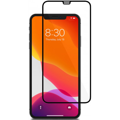 Защитное стекло iPhone 11 5D Black