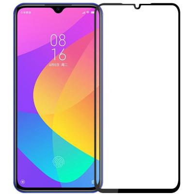 Защитное стекло Xiaomi Mi 9 Lite 5D Black (полный клей)