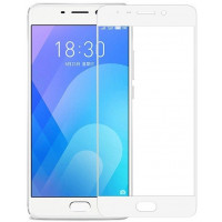 Защитное стекло Meizu M6 Note 5D White (Полный клей)